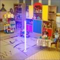 Бактерицидная лампа для детской комнаты.
