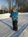 СТАНИСЛАВ ГУБИН!!! В зимнем комплекте от MEIN BABY! (на улице -18 градусов)!!! -43
