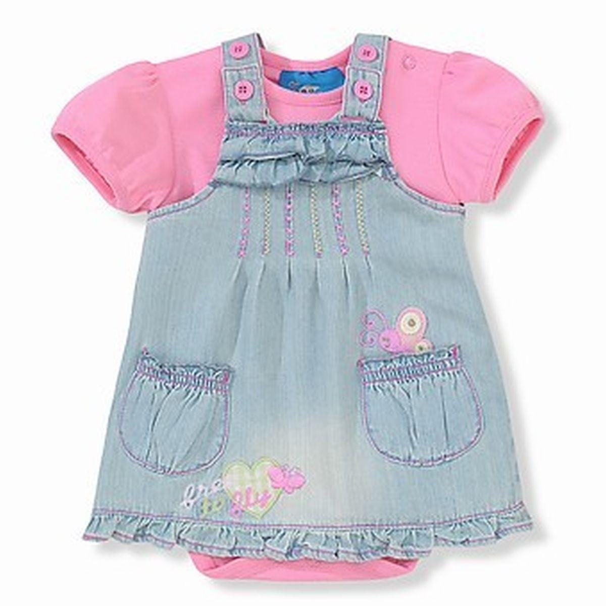 Платье для девочки из боди