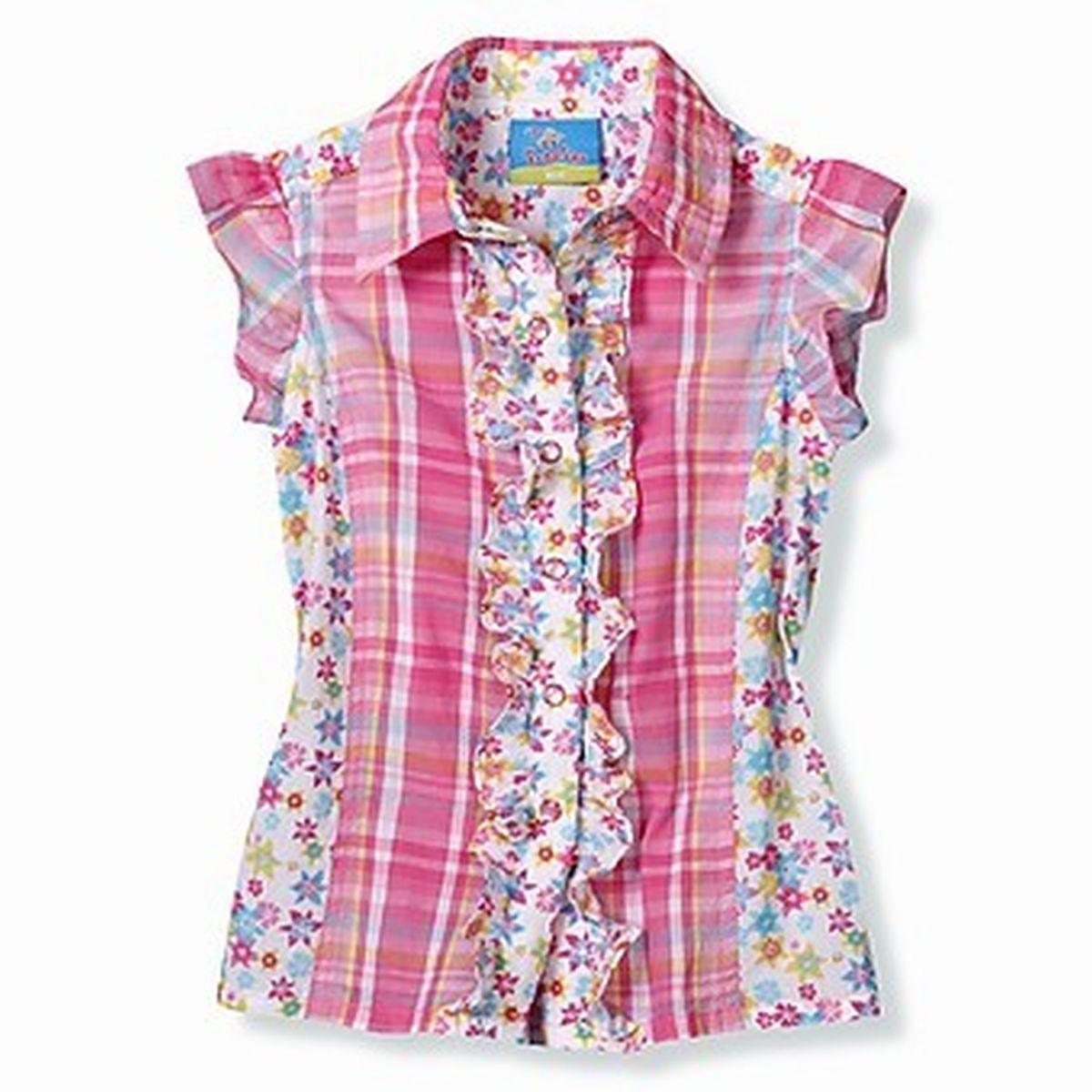 Детские Блузки Выкройки Для Девочки В Школу